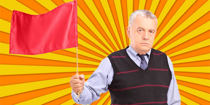 Beware Red Flag Waving Clients: Find Your Ideal Clients